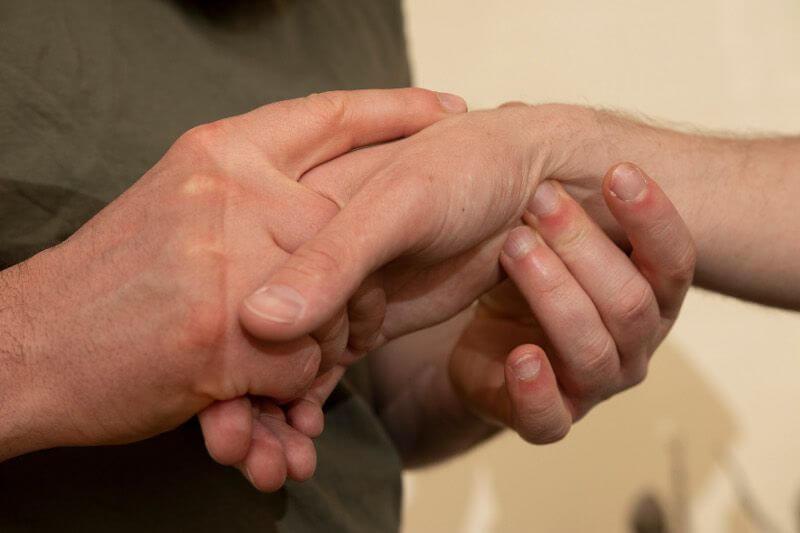 De Beweeganalist - behandeling hand