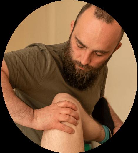 Functionele Osteopatische Integratie | behandeling knie | Beweeganalist Martijn van der Windt